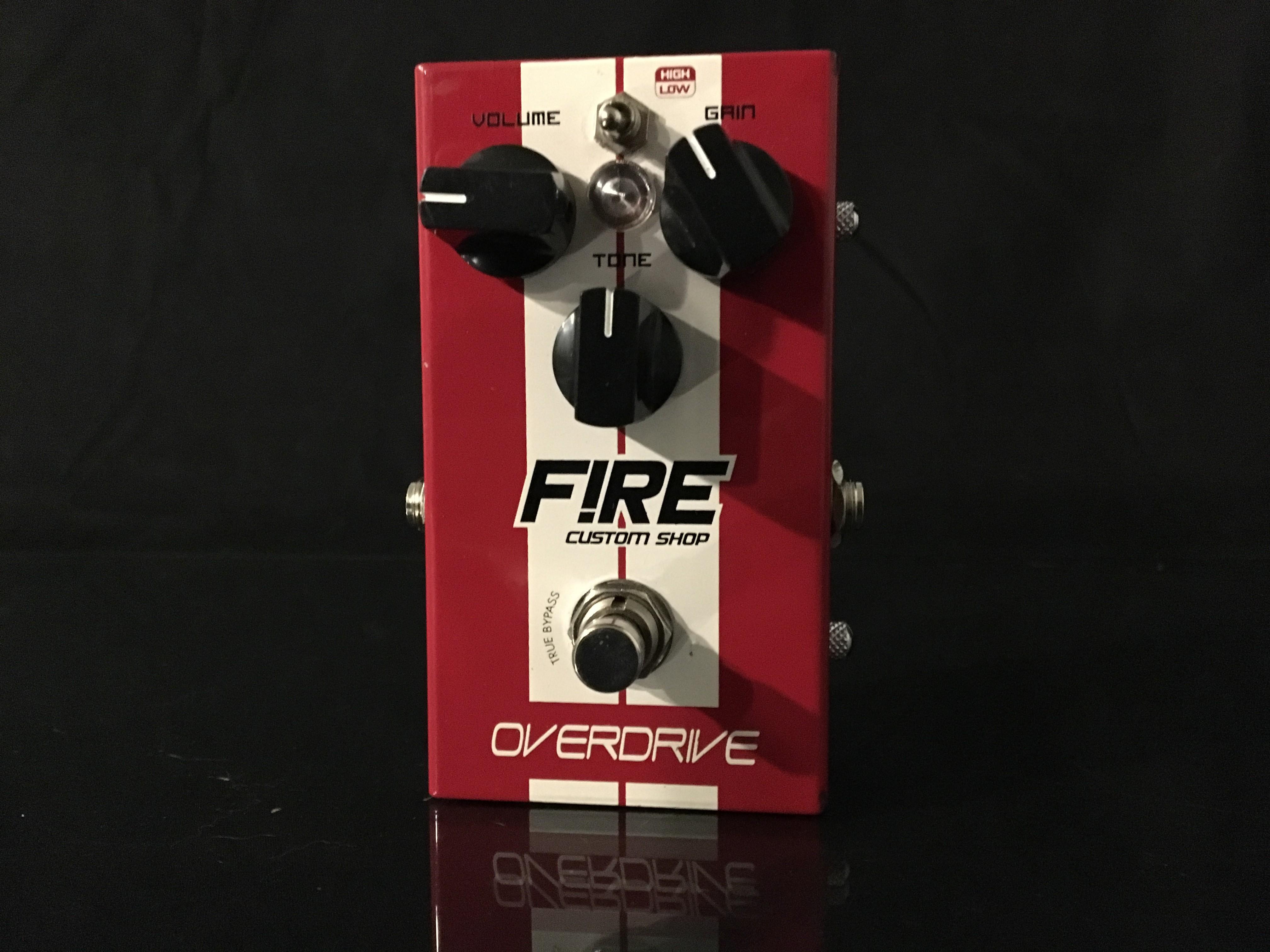 fire custom shop overdrive and kronos delay guitartonepro. Black Bedroom Furniture Sets. Home Design Ideas